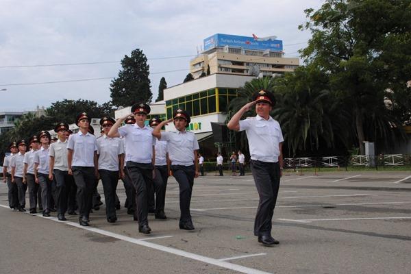 Полицейские Петербурга отправляются в сочи