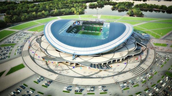 На стадионе Рубин заработала система идентификации болельщиков