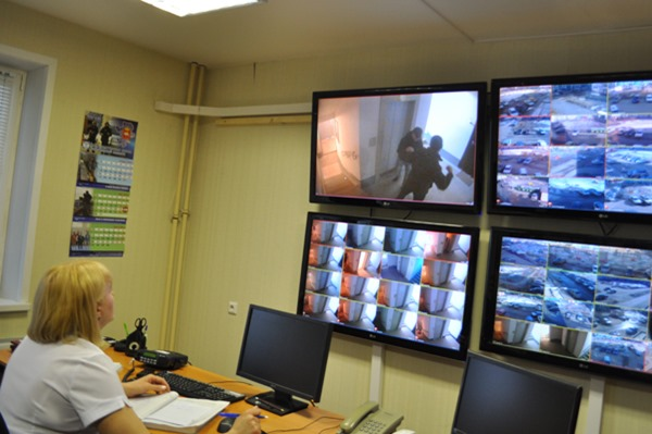 В Челябинске организовали первый пункт видеонаблюдения