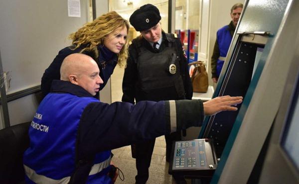 Московское метро получило современную систему безопасности