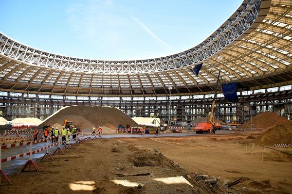 """Стадион """"Лужники"""" получит систему безопасности за 3 млрд рублей"""