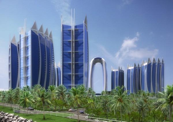 Система безопасности BOCSH для нового жилого комплекса Джакарты